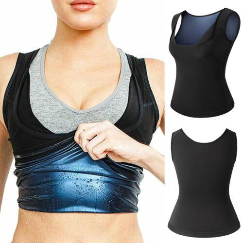 KIWI RATA Womens Sweat Vest Sauna Suit Polymer Body Shaper