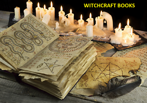 Witchcraft Books ~212 Vintage Books on DVD ~ Wicca Demonology Pagan Occult Magic