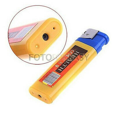 Lighter Spy DVR Hidden Camera Cam Camcorder Video Photo Recorder USB Mini DV NEW