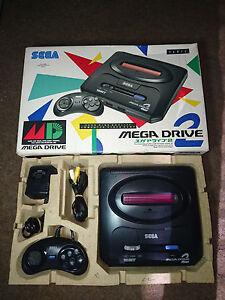 Console-Sega-MegaDrive-2-jap-import-rare-en-boite