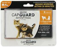 Sentry 6 Count Capguard Flea Tablets For 2 To 25-pound Dogs And Cats, New, Free