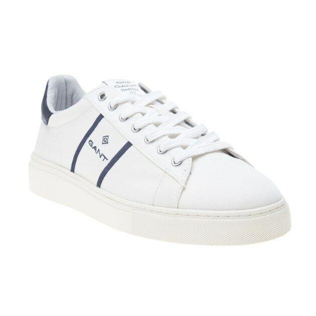 Nuevas zapatillas para hombre blancoo Gant Lona Con Cordones Textil de Denver