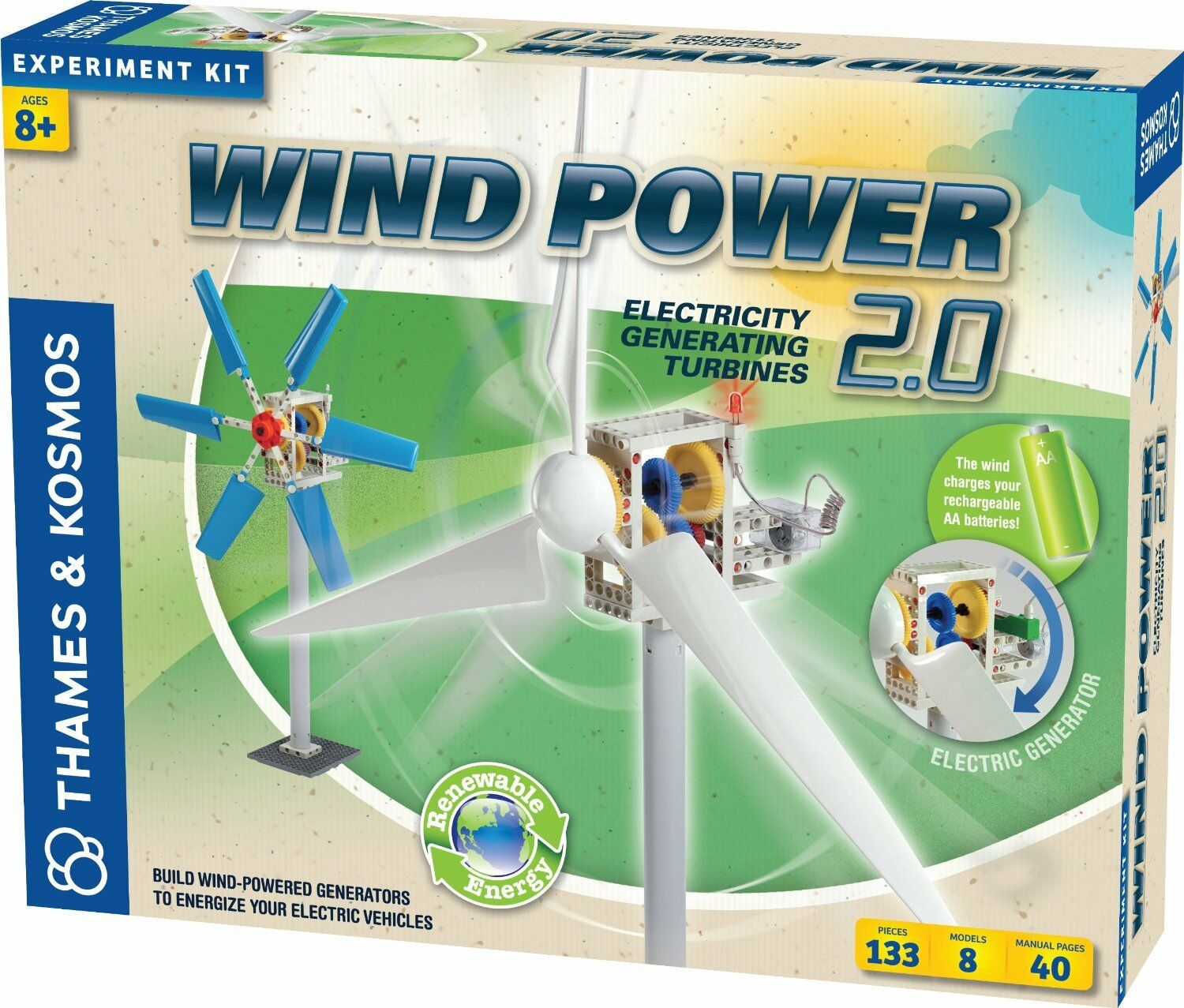 Thames and Kosmos 555002 Wind Power 2.0 Experiment Kit