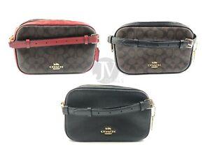 Coach-F68168-F39856-Signature-Coated-Canvas-Leather-Jes-Crossbody-Bag-Handbag