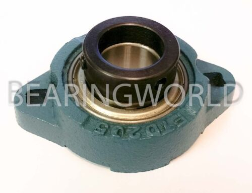 "SAFTD206-20 New 1-1//4/"" Eccentric Locking Bearing with 2 Bolt Ductile Flange"