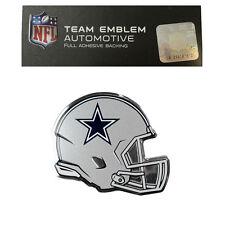 New NFL Dallas Cowboys Color Aluminum Helmet 3-D Auto Emblem Sticker Decal