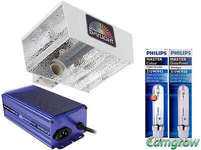 Brioso Maxibright Daylight Horizon 315w Cdm Kit & Philips Cdm Lampadine & Zavorra 315w-