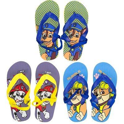 Boys Summer Flip Flops Spiderman Shoes Holidays Pool Beach Sizes 25-34 EU 7-2 UK