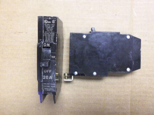GE Breaker1P 20A 277VAC Circuit Breaker bolt-in TEY120