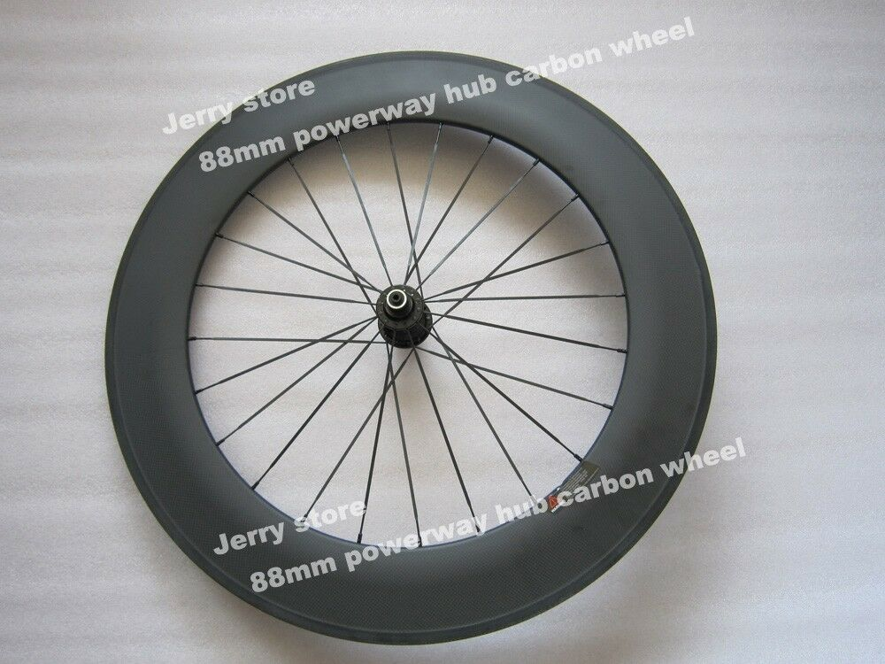 88mm  only rear wheel 700C full carbon fiber clincher wheel titanium material  online sales