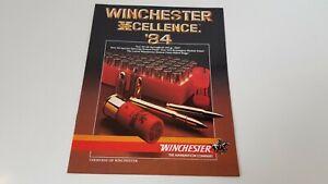 1984 Winchester Super Xcellence Ammunition Catalog USA S8