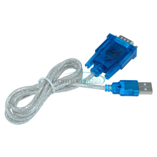 USB to RS232 Serial Port 9 Pin Serial COM Port Adapter Convertor DB9 Cable