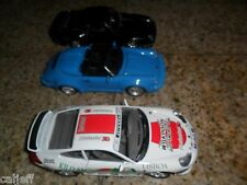 3 CAR LOT 1/24 SCALE PORSCHE BURAGO ITALY KILO AMERICANO WILKERSON SWORD MOBIL +