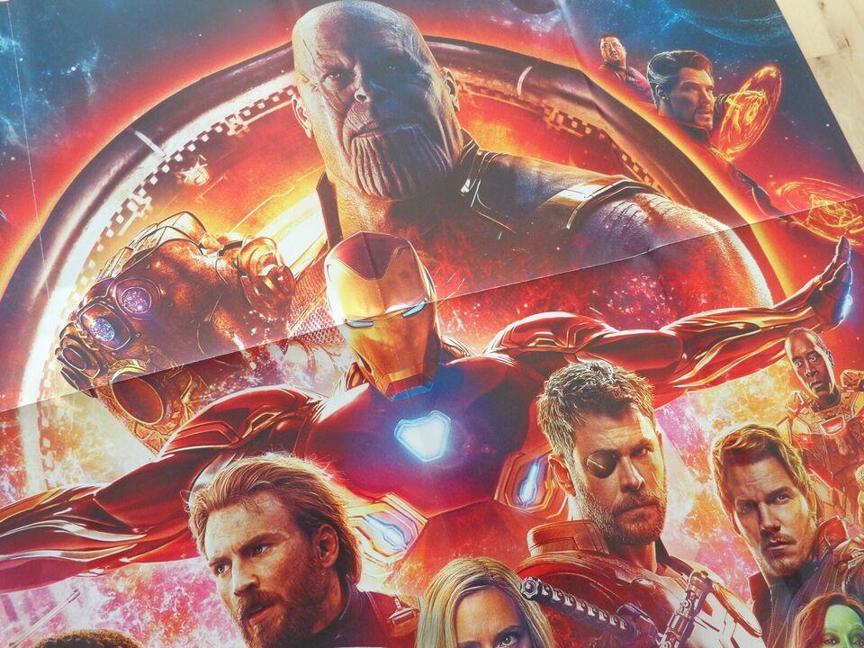 Plakat Motiv Avengers Infinity Dbadk Køb Og Salg Af