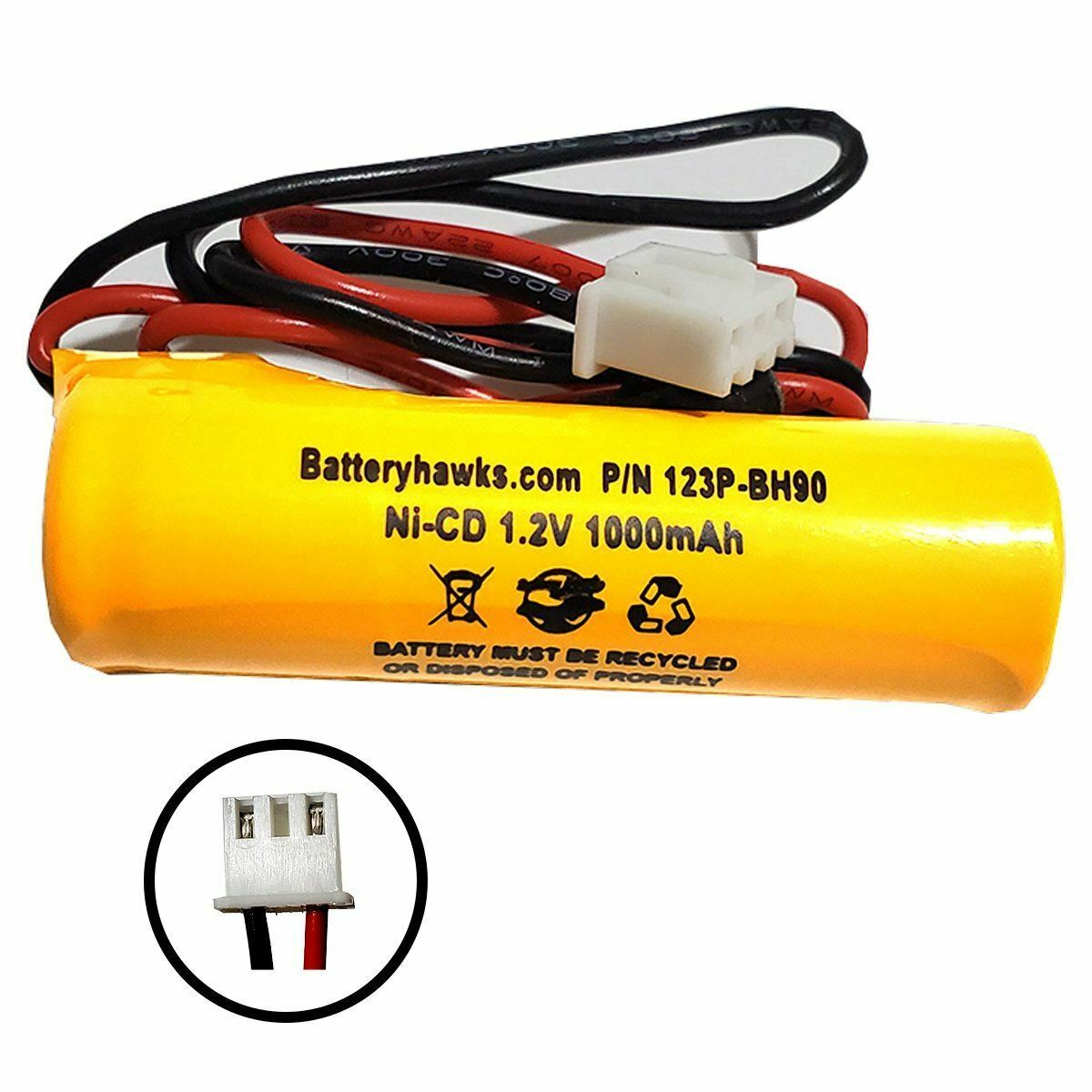 S/L 026-209 026209 Sure-Lites 1.2V 1.0Ah nI-cd Battery Pack Replacement for Exit