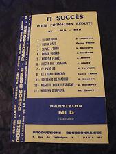 Partition 11 Successo per Formation ridotto Mi b Paso Doble 1964