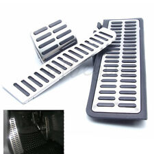 3pcs Automatic Transmission Sports Steel Pedal For Golf MK6 Jetta MK5 Rabbit EOS