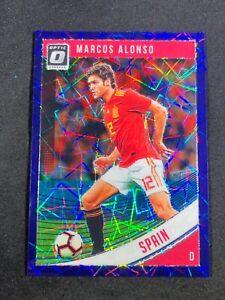 2018-19-Panini-Marcos-Alonso-Optic-Purple-Velocity-125-Spain-Chelsea-Espana