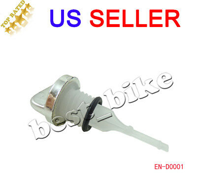 Oil Dipstick WITH O RING GY6 Scooter 50 125 150cc Moped QMB139 157QMJ V DS11
