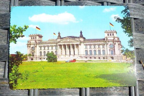 Reichstagsgebäude Berlin Ansichtskarte 50er 60er Jahre KRÜGER 921//66  å *