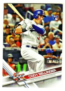 2017-Topps-Update-US38-CODY-BELLINGER-RC-Rookie-Los-Angeles-Dodgers