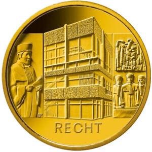 100 Euro Gold Recht 2021 Säulen der Demokratie Prägebuchstabe G im Etui