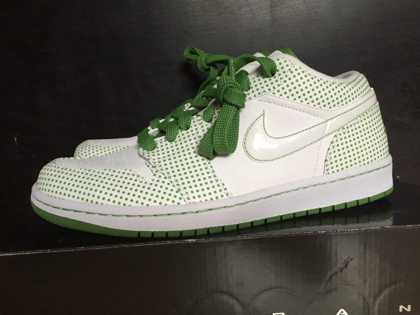 Nike Air Jordan phat low 1 I  retro white chlgoldphyll