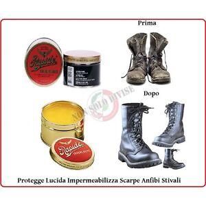Caricamento dell immagine in corso  Grasso-per-Scarpe-ed-Anfibi-Rapide-Impermeabilizza-Lucida- 3e96b3d5be1b
