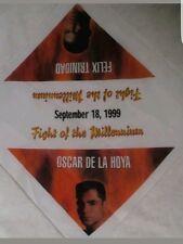 OSCAR DE LA HOYA vs FELIX TRINIDAD - FIGHT of the Millennium 1999 Bandana RARE