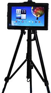 Staender-Stativ-Ipad-Tablet-ipega-tripod-iPad1-iPad2-iPad3-Acer-verstellbarer-Alu