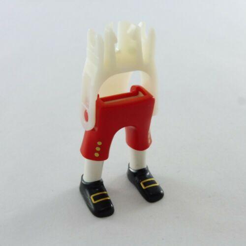 28845 Playmobil Paire de Jambes Rouge blanche et Dorée