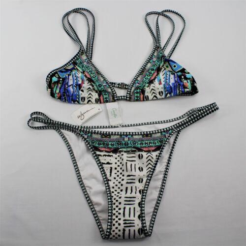 Camilla Franks Double Strap Triangle Bikini Maasai Mosh Women/'s ~ Choose Size