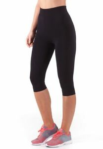 Bellissima-Women-039-s-Capri-Yoga-Pants-Seamless-High-Waisted-Workout-Leggings