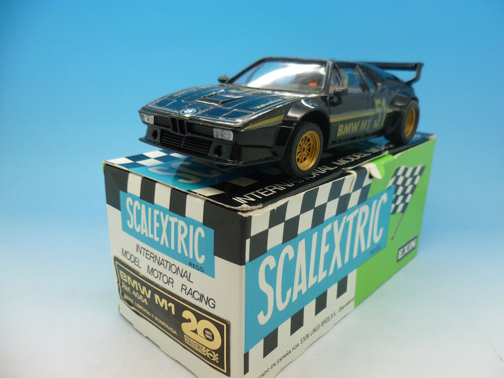 Scalextric 4064 BMW M1, totally mint appears unused, boxed with instructions