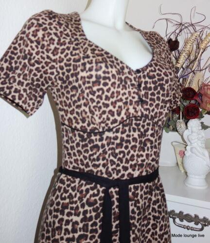 Vive Maria Kleid Leo Babe Dress S M L 36 38 40 Leoparden-Muster Trend angesagt