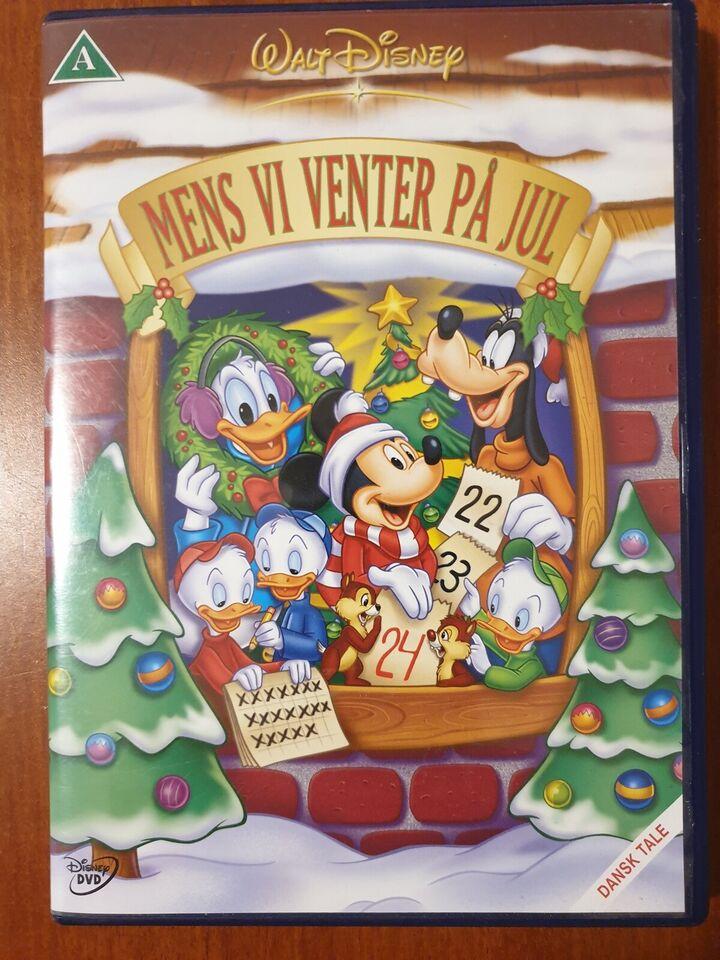 Mens Vi Venter På Jul, instruktør Walt Disney, DVD
