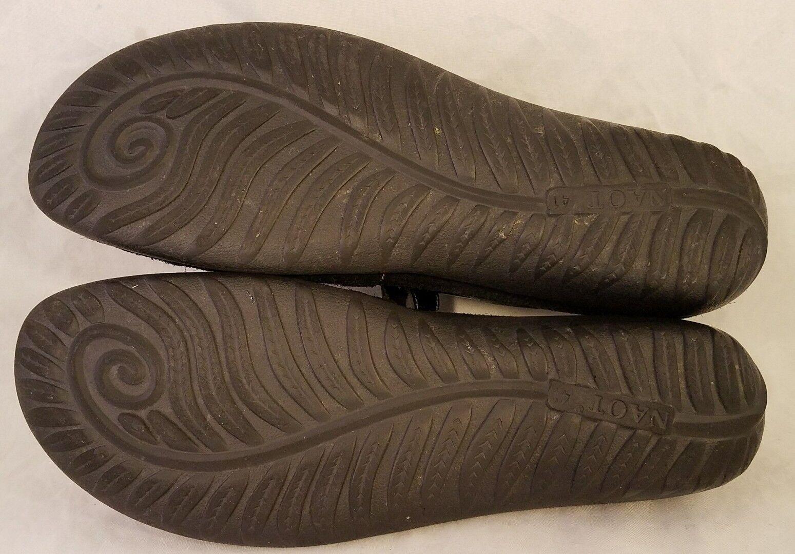 Größe Schuhe 41/US 10 NAOT FOOTWEAR Damenschuhe Schuhe Größe MARY JANES BLACK SUEDE 3c00cb