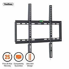 """VonHaus 32-55"""" Fixed TV Wall Mount Bracket with Ultra Slim Design & Spirit Level"""