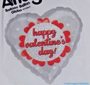 """REDUCED WHOLESALE 18/"""" FOIL BALLOON HAPPY  VALENTINES DAY PINK HOLOGRAPHIC"""