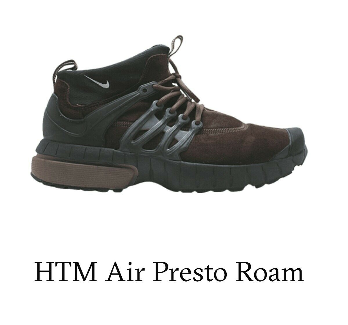 Mens nike htm air presto roam size 10-11 brown, brand new ,limited edition