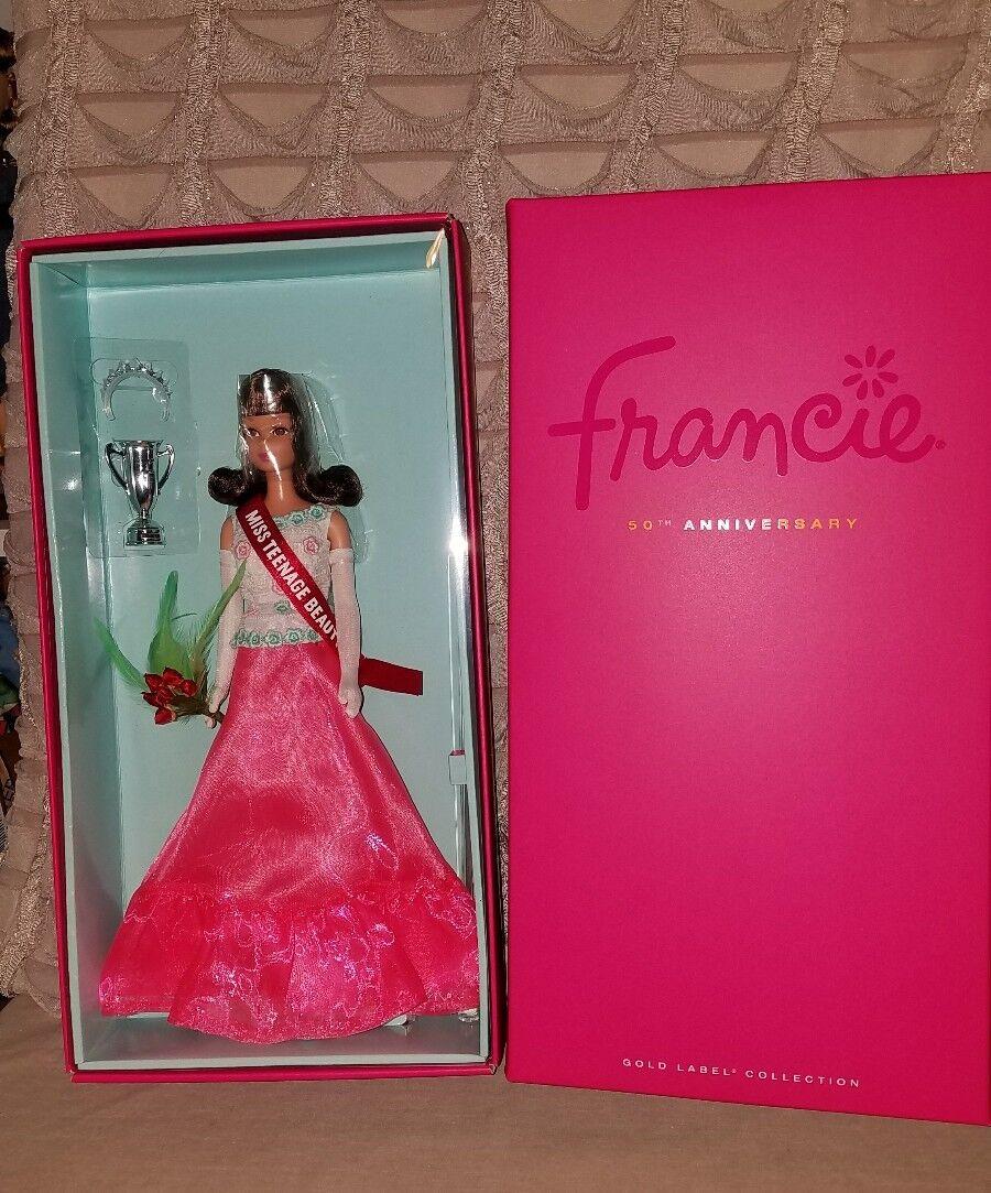 2016 50th aniversario Francie barbie en caja original con