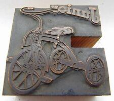 Printing Letterpress Printers Block Tricycle