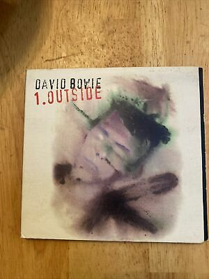 David Bowie ORIGINAL WATERCOLOR 6\u201dx9\u201d