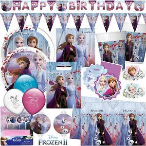 Eiskonigin Frozen 2 Kindergeburtstag Geburtstag Party Deko Set