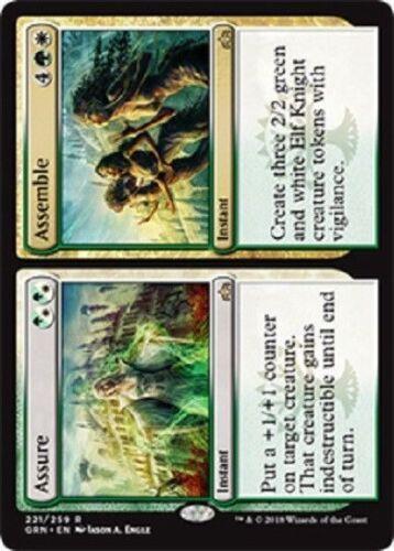 Assure Assemble x4 4x Guilds of Ravnica Magic the Gathering MTG