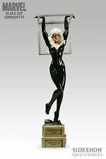 Sideshow Marvel Exclusive Spider-Man BLACK CAT Figure Statue Comiquette SEALED!!