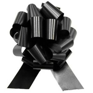 14-034-XL-Large-Metallic-Black-Pull-Bow-Giant-Wedding-Decorations-Props-Decoration