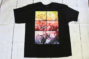 Attack-on-Titan-T-Shirt-Eren-Vs-Giant-Titan-Ripple-Junction-Size-XL-Brand-New