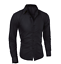 Blouse-Men-039-s-Slim-Fit-Shirt-Long-Sleeve-Formal-Dress-Shirts-Casual-Shirts-Tops thumbnail 3