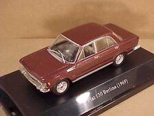 Starline 1/43 Diecast 1969 Fiat 130 Berlina (Sedan) w/LHD, Red Amaranto  #510318